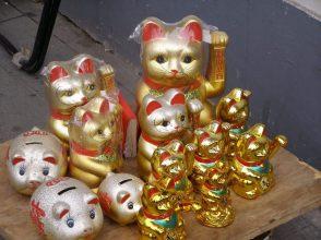 Souvenir Winkekatze Maneki Neko