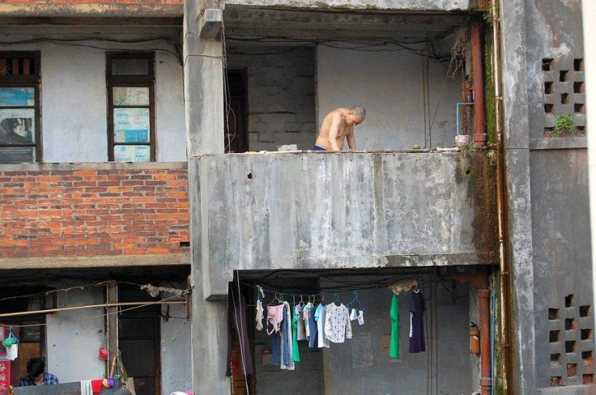 Balkon in Chengdu
