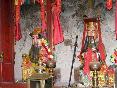 Hung Shing Tempel Götter