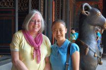 Ulrike in Chengdu