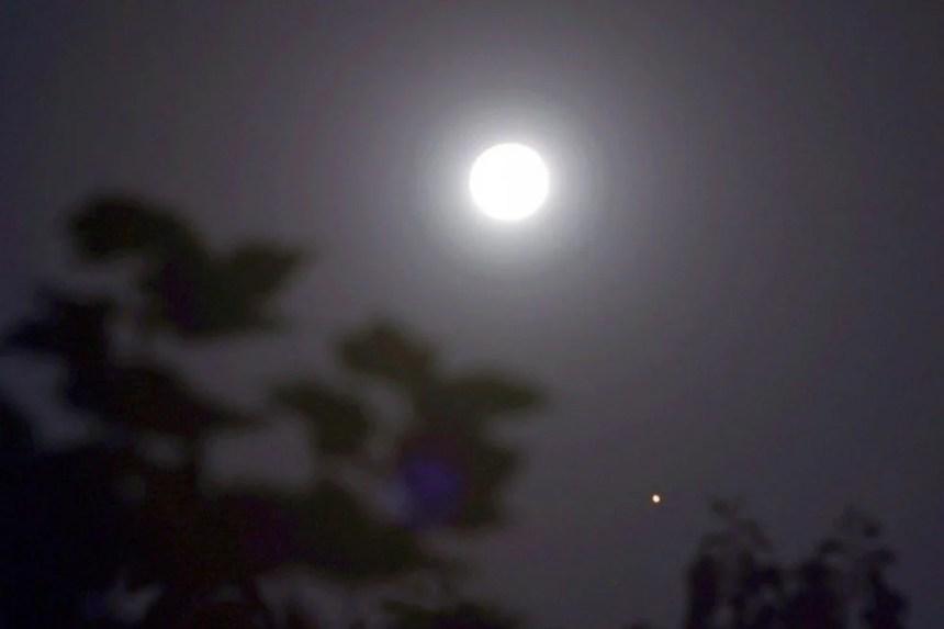 Mond zum Mondfest