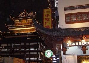 Starbucks in Shanghai 2011