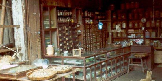Traditionelle Apotheke in Südchina