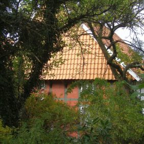 Bauernhaus von hinten