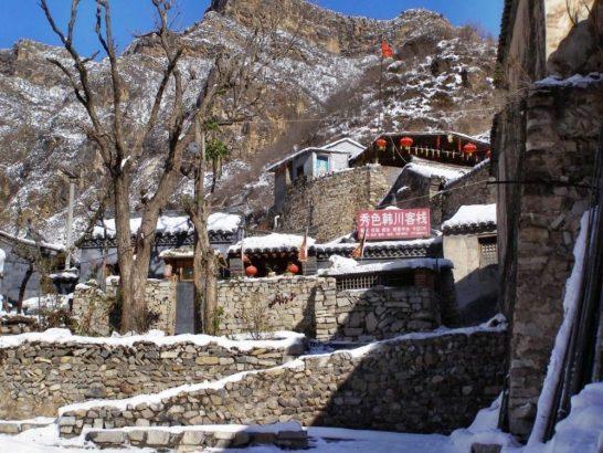 Winter: Ein Dorf in China hne Touristen