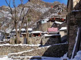 China im Winter