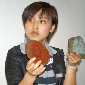 In Xi'an werden die verschiedenen Jade-Sorten vorgestellt