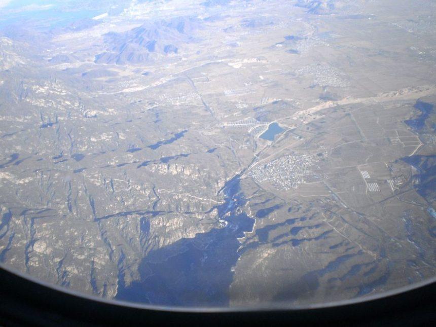 Große Mauer aus der Luft