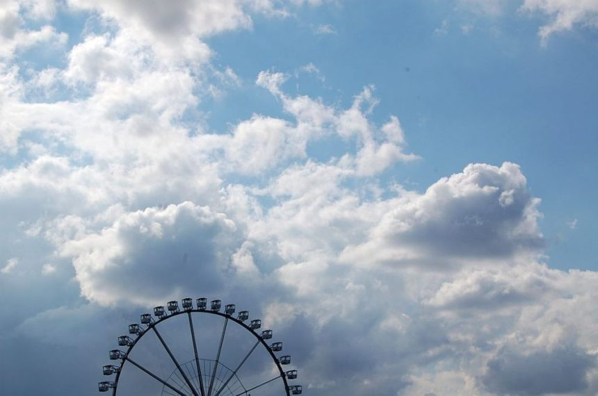 Near the Cruiseterminal in Hamburg. Summer 2014