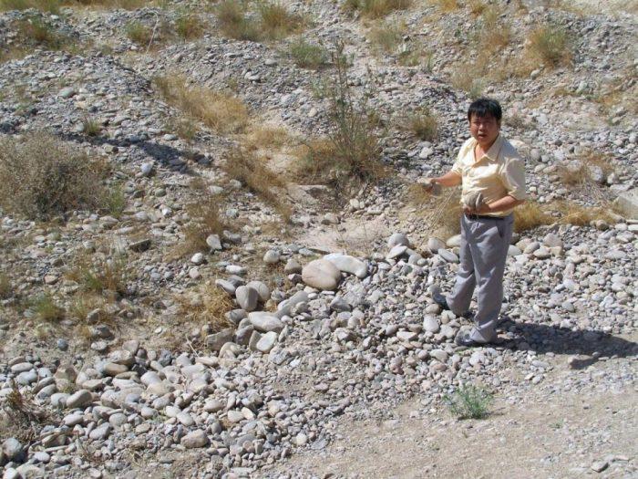 Der Reiseleiter kennt sich in Geologie und erklärt, warum Chinesen bizarre Steine so lieben.