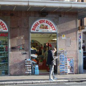 Minimarkt in der Via Marsala