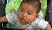 Baby in China