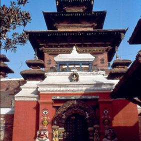 Tempel auf dem Durbar Square