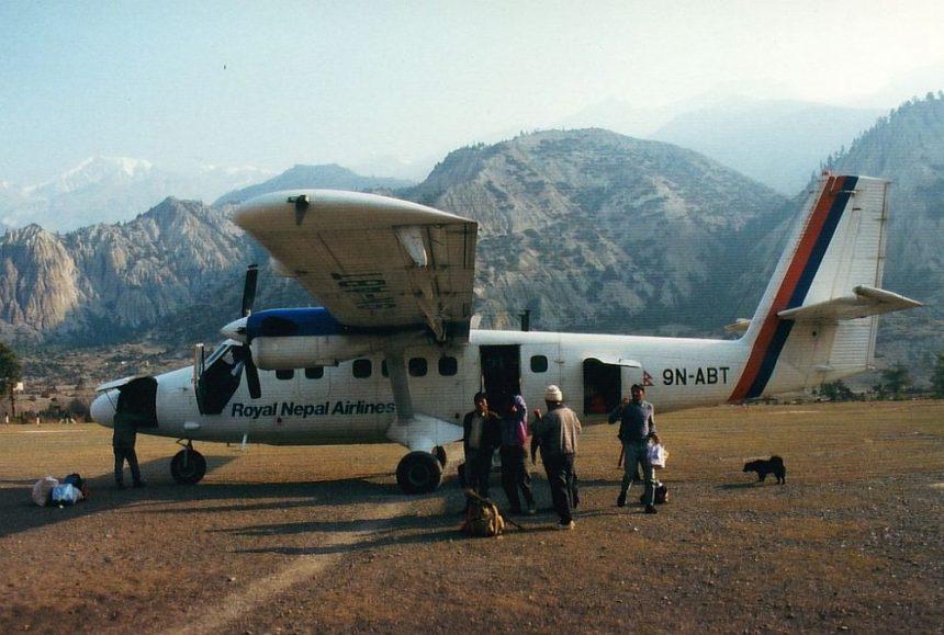 Flugangst in Omre Nepal: Das Flugzeug ist so klein!
