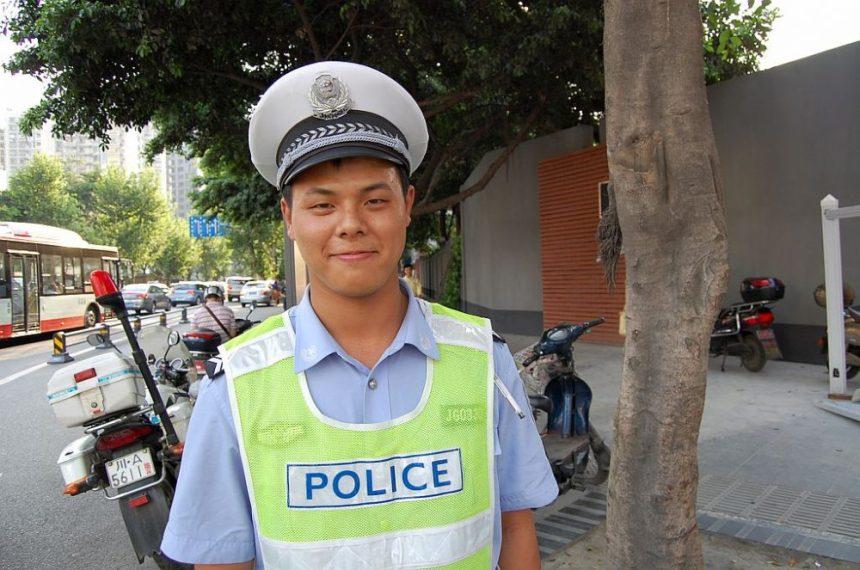 Polizist Uniformen