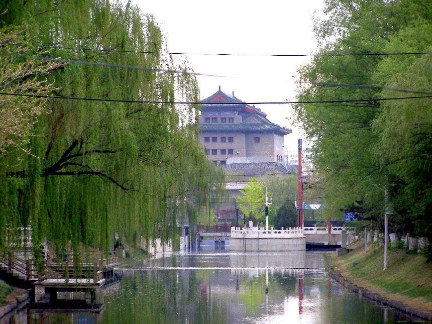 Deshengmen Tor in der Stadtmauer