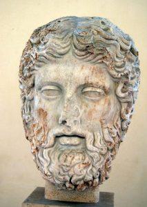 Kopf des Zeus, Dioklethiansthermen