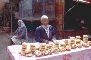 Kashgar 1992 Uiguren