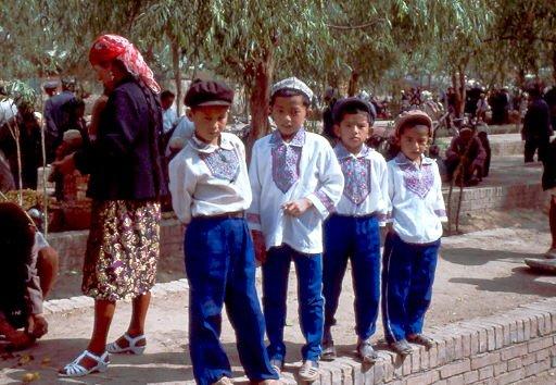 Bevölkerung CHina: Minderheiten