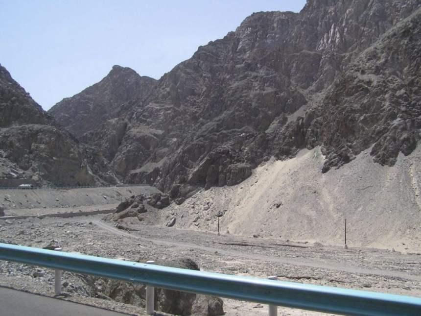 Taklamakan Wüste Sandanwehungen