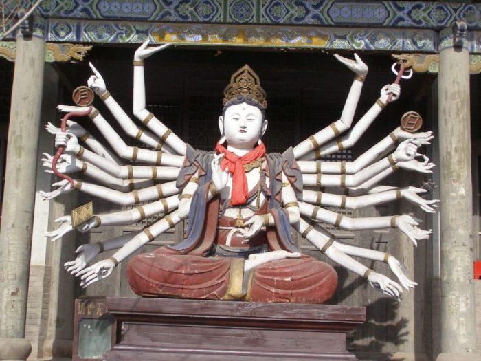 Shuanglin Tempel - Guanyin