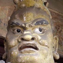 Shuanglin Tempel Himmelskönig