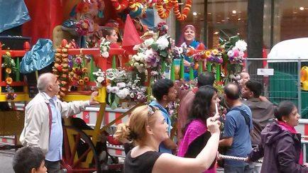 Indische Prozession
