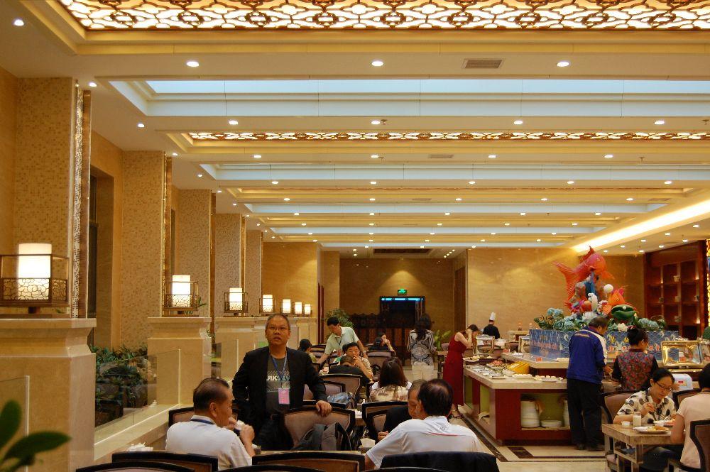Restaurant im Chongning Castle Hotel