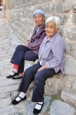 Frauen im Dorf