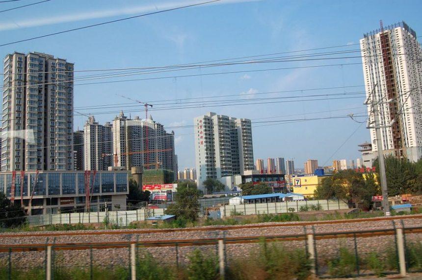 Neue Hochhäuser