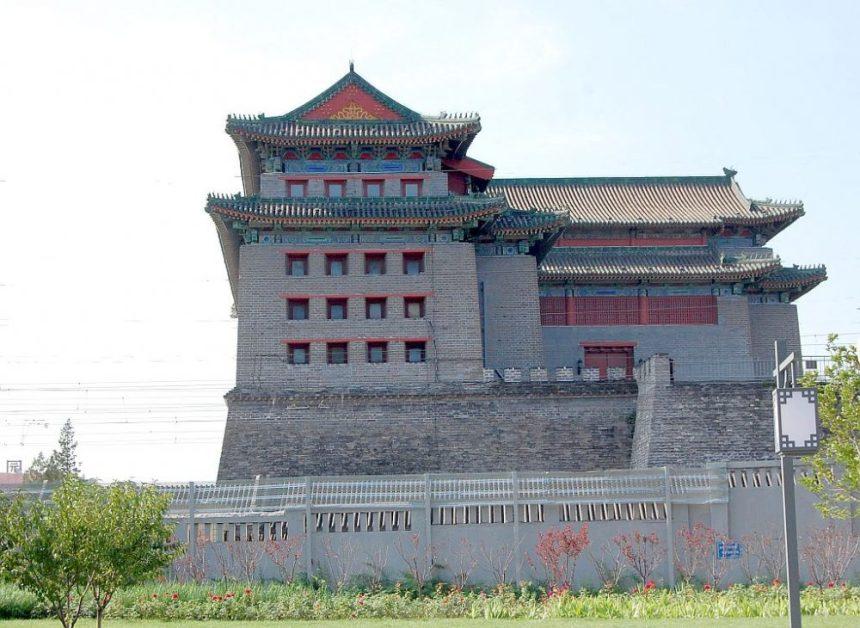 Foxtower an Pekings Stadtmauer
