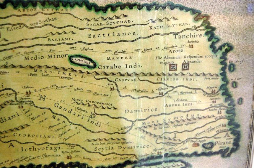 Peuteringia Karte