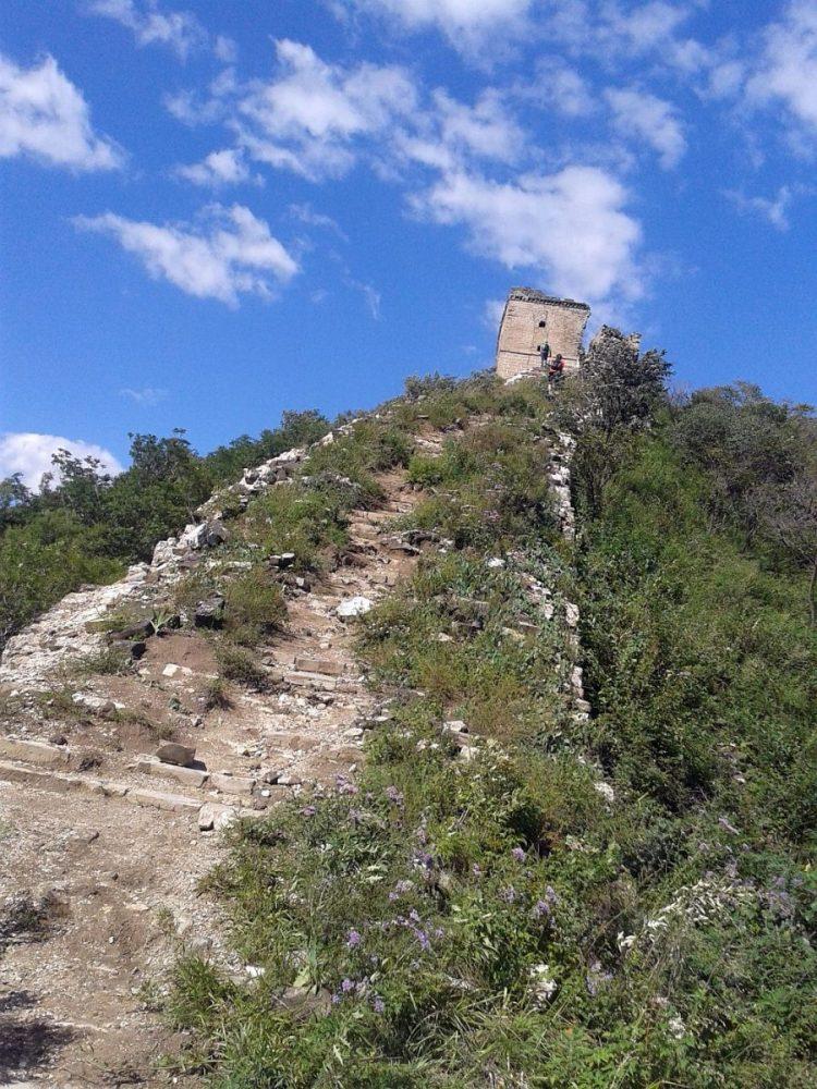 Chinas Große Mauer bei Chenjiapu