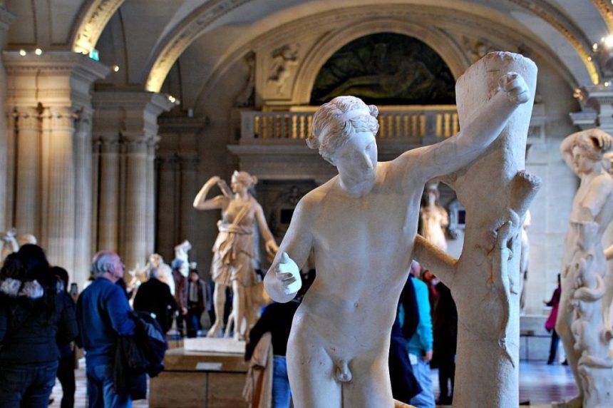 Louvre: In der Antikenabteilung