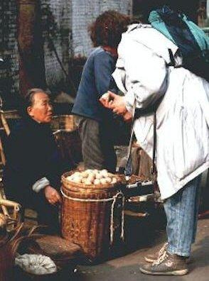 Chengdu Markt