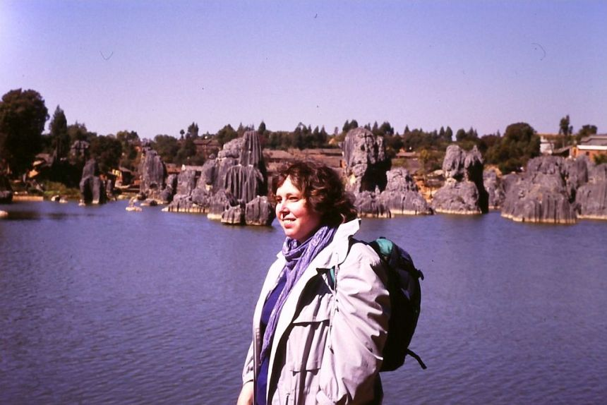 Ulrike 1987 in China