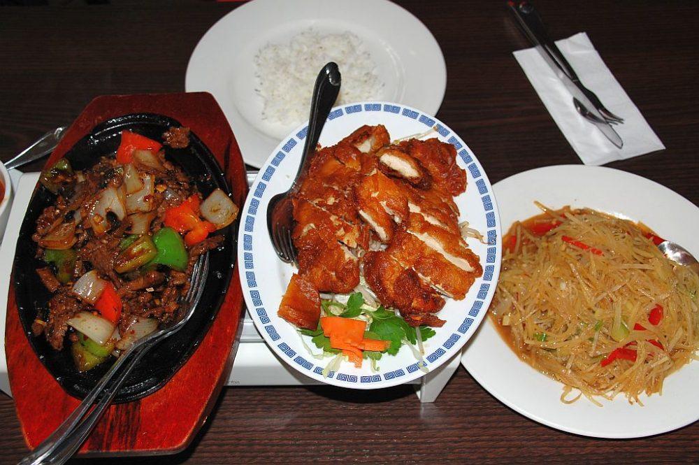 China-Restaurant Chinese am Fleet