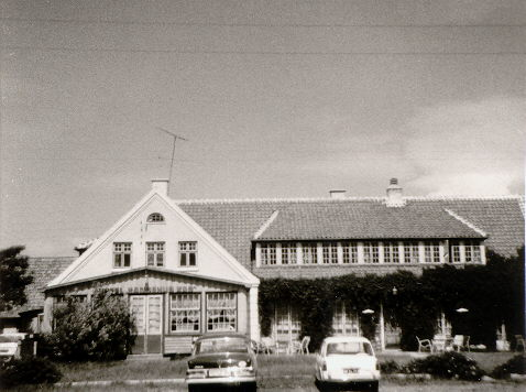 Das Hotel in Dänemark, aus dem wir 1960 auszogen