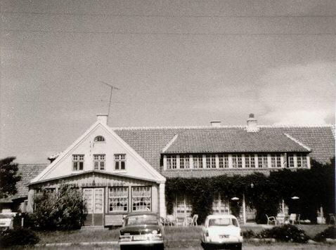 Das Hotel in Dänemark 1960
