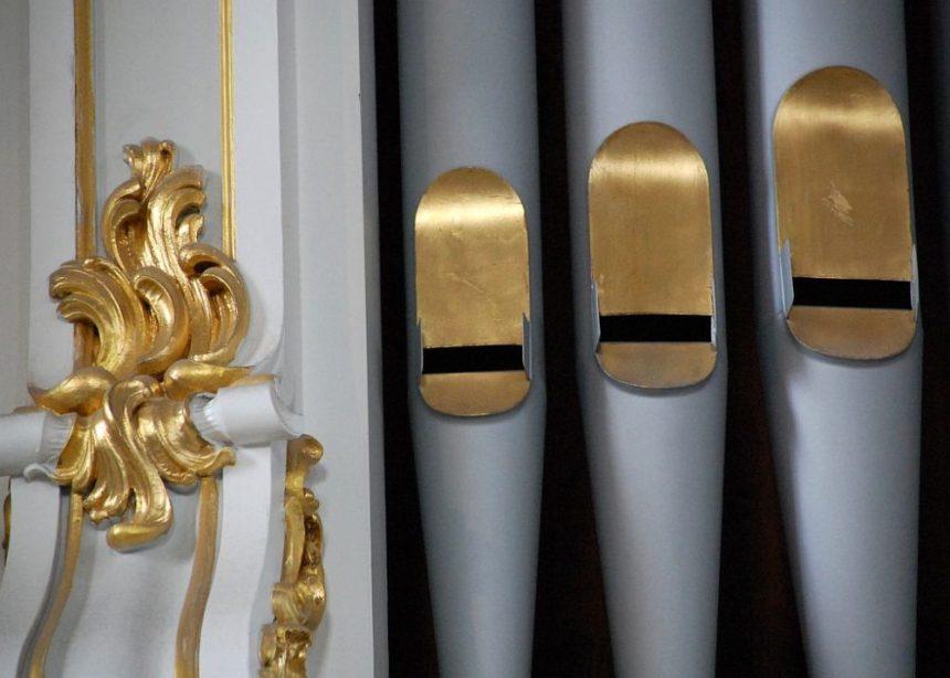 Orgelpfeiffen im Michel