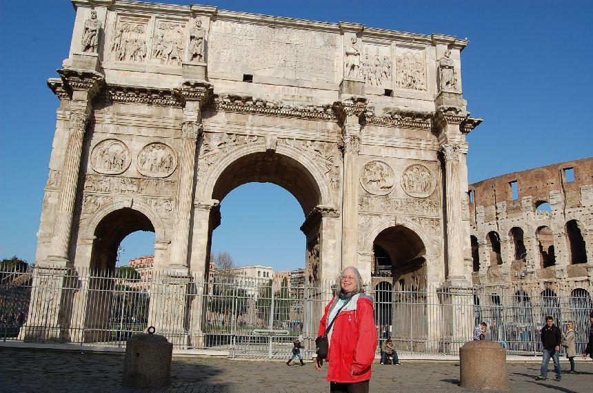 Ulrike in Rom