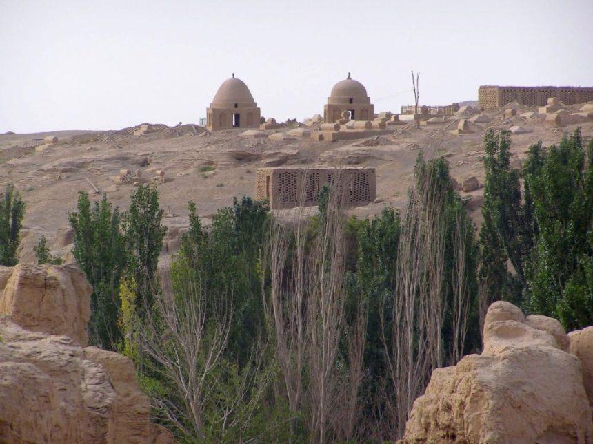 Jioahe -Turfan - Muslimischer Friedhof