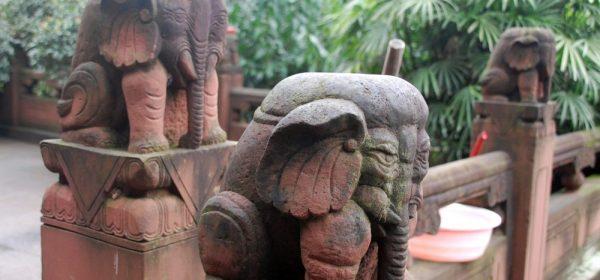 Elefanten in China