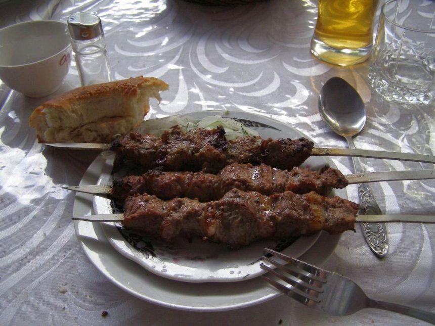 Schaschlik in Osh