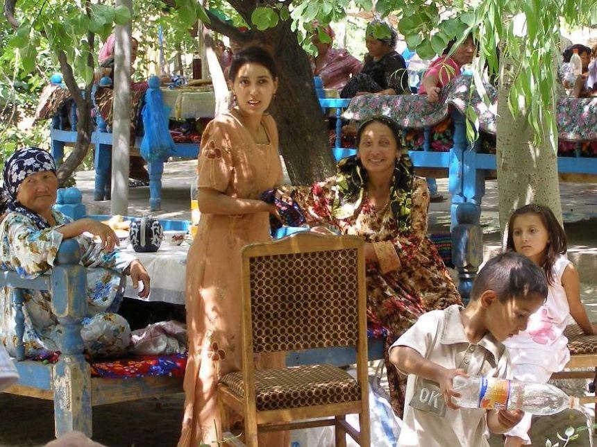 Andijan Hochzeitsgesellschaft