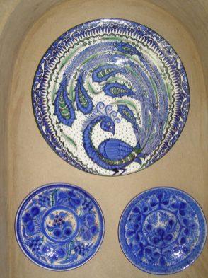 Rishtan - blaue Keramik