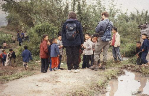 Dazu bei Chongqing bei einer Schule