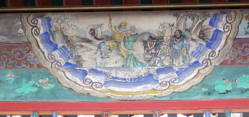 Sommerpalast Peking - Malerei im Langen Korridor