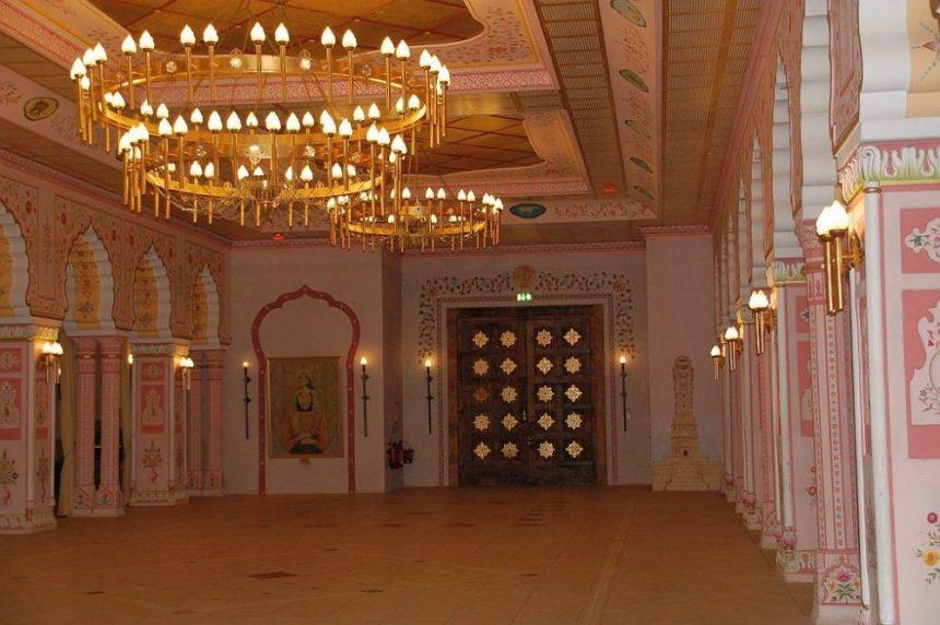 Die indische Palasthalle im Zoo Hannover
