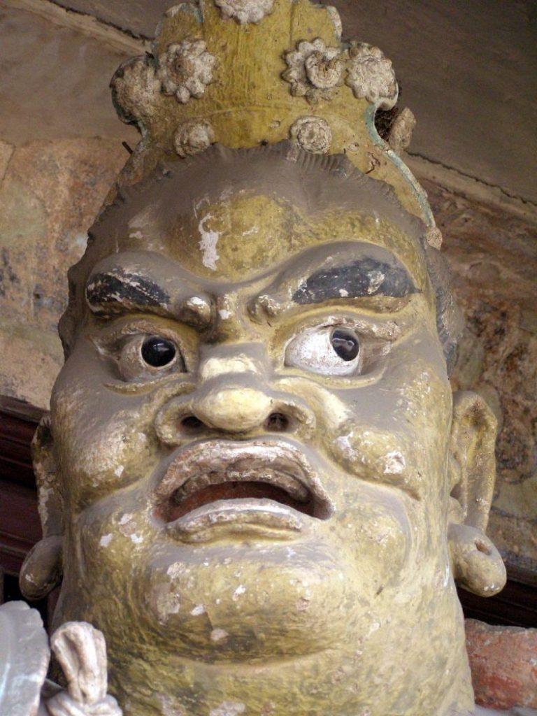 Shuanglin Tempel bei Pingyao